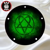 Heartagram Green